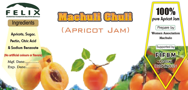 Apricot jam from Machulo